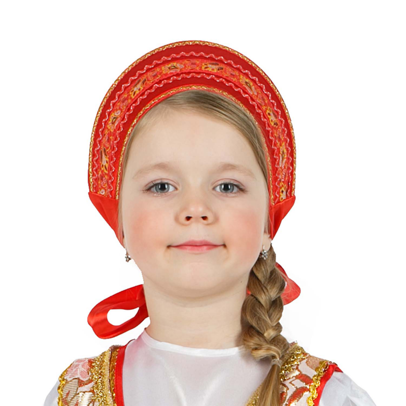 Как сделать головной убор для русского народного костюма