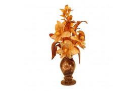 """Цветы из янтаря """"Орхидеи"""""""