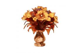 """Цветы из янтаря """" Весенний букет"""""""