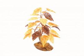 """Янтарное дерево """"3 ветки"""""""