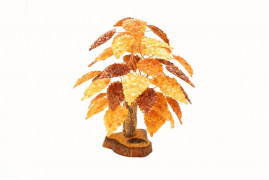 """Янтарное дерево """"5 веток"""""""