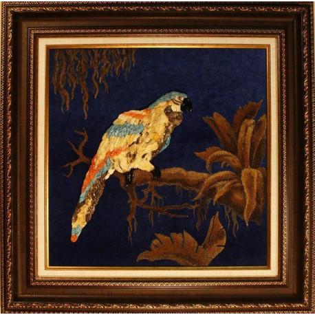 "Картина из янтаря ""Попугай"""