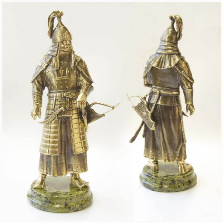 "Бронзовая статуэтка ""Чингисхан"""