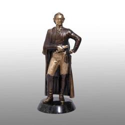 """Бронзовая статуэтка """"А. В. Суворов"""""""