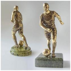 "Бронзовая статуэтка ""Футболист"""