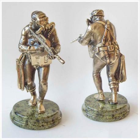 "Бронзовая статуэтка ""Спецназ ВМФ"""