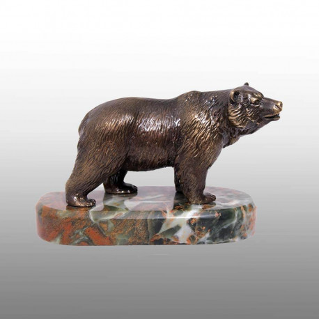 "Бронзовая статуэтка ""Медведь"""