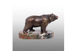 """Статуэтка """"Медведь"""" бронза литье"""