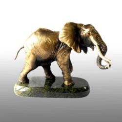 """Бронзовая статуэтка """"Слон"""""""