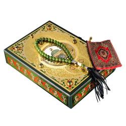Коран на Арабском + четки нефрит
