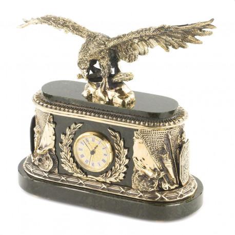 """Часы """"Орел"""" нефрит"""