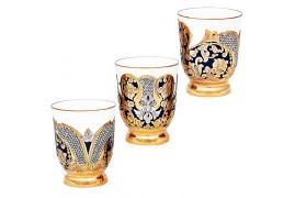 """Набор из трех стаканов """"Элит"""" златоуст"""