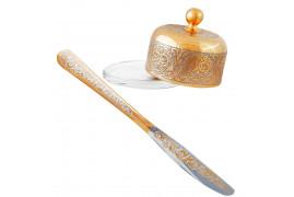 Масленка с ножом златоуст