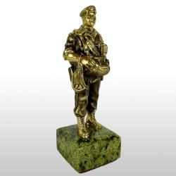 "Бронзовая статуэтка ""Десантник"""