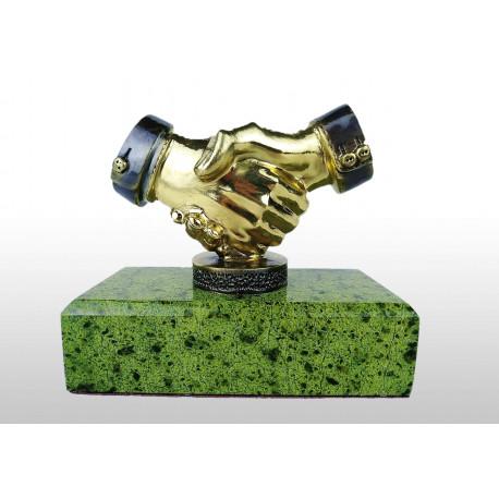 "Бронзовая статуэтка ""Рукопожатие"""