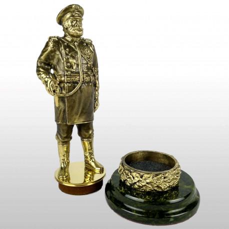 """Статуэтка """"Полицейский"""" (оснастка для печати) бронза литье"""
