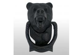 "Ручка - стучалка дверная ""Медведь"" чугун"
