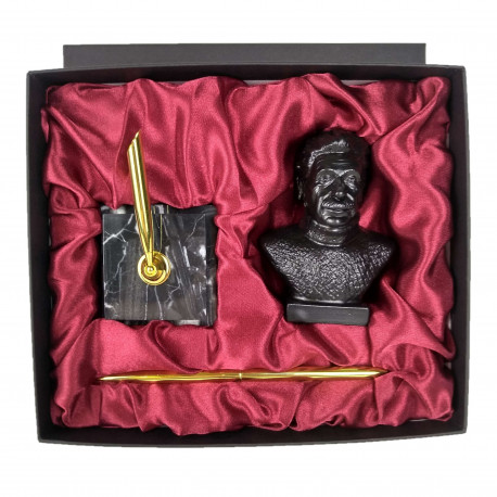 """Подарочный набор """"Эйнштейн А."""" бюст с ручкой"""