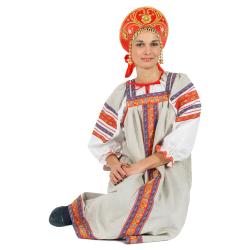 """Сарафан """"Забава"""", цвет - натуральный"""