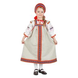 """Сарафан детский """"Забава"""", цвет - натуральный"""