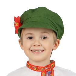 Картуз, цвет - зеленый