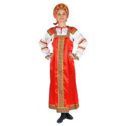 """Сарафан """"Василиса"""", цвет - красный"""