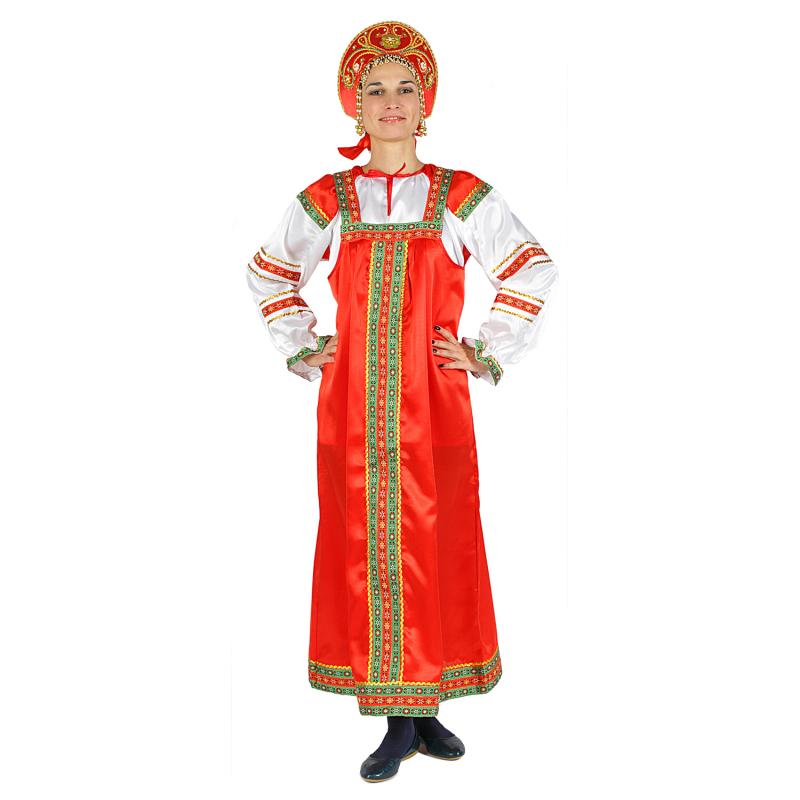 фото русского женского народного костюма