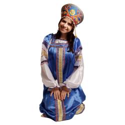 """Сарафан """"Василиса"""", цвет - """"Василек"""""""