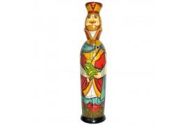 Бар для бутылки Царевна-лягушка 0,5 л. (высота 32 см., D8 см.)