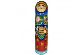 Бар для бутылки Девушка с коромыслом 0,5 л. (высота 32 см., D8 см.)