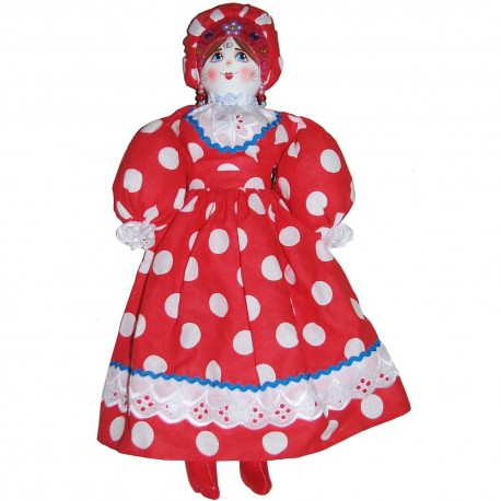 Кукла славянская Прасковья - Петровна (высота 50 см.)