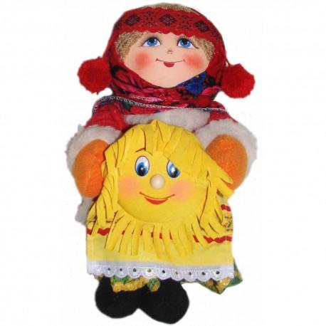 Кукла славянская Масленица (высота 32 см.)