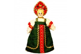 Кукла славянская Варенька (высота 30 см.)