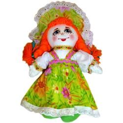 Кукла славянская Веснушка (высота 21 см.)