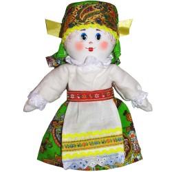 Кукла славянская Ася (высота 23 см.)