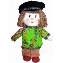 Кукла славянская Вася (высота 23 см.)