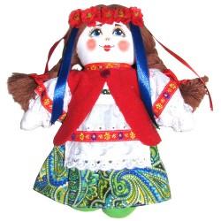 Кукла славянская Украинка (высота 19 см.)