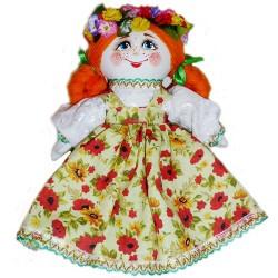 Кукла славянская Ксюша (высота 25 см.)