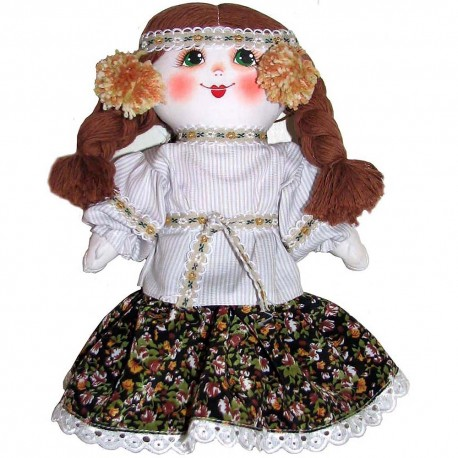 Кукла славянская Анюта (высота 24 см.)