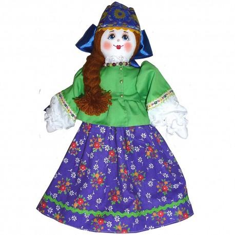 Кукла славянская Домна (высота 34 см.)