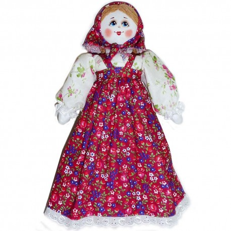Кукла славянская Галочка (высота 34 см.)