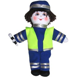 Кукла славянская ГАИшник (высота 28 см.)