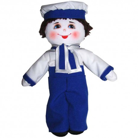 Кукла славянская Морячок (высота 28 см.)