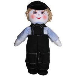 Кукла славянская Строитель (высота 28 см.)