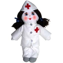 Кукла славянская Медсестра (высота 28 см.)