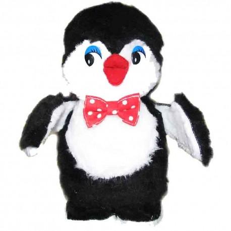 Игрушка лоскутная Пингвин (высота 23 см.)