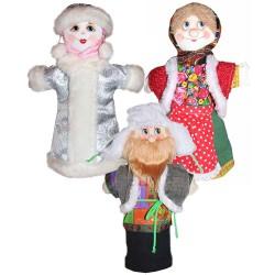 Кукольный театр Снегурочка (сказка 3 персонажа)