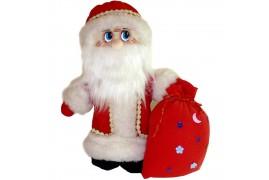 Игрушка мягкая Дед Мороз большой (высота 37 см.)
