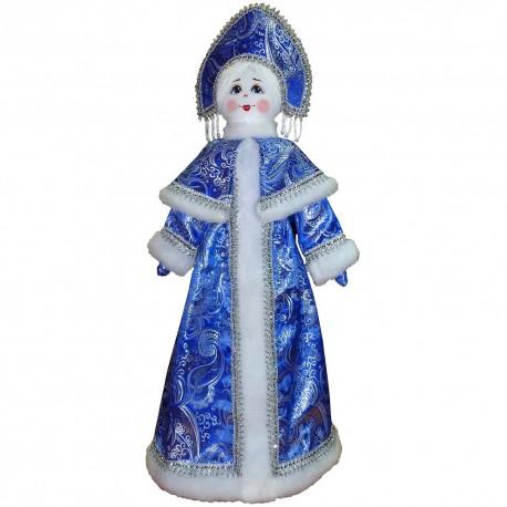 Игрушка мягкая Снегурочка на подставке (высота 70 см.)