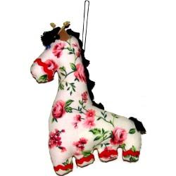 Кукла-подвеска Жираф (высота 20 см.)